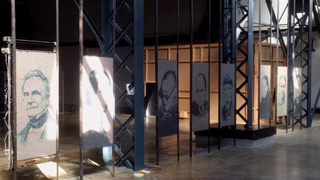 *dyforme* de Paolo Almario en la III Bienal Internacional de Arte Digital de Montreal.