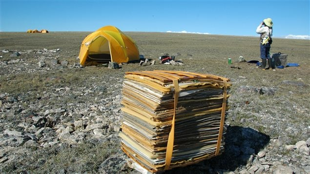 Researchers will set up tents and equipment on the Arctic tundra.