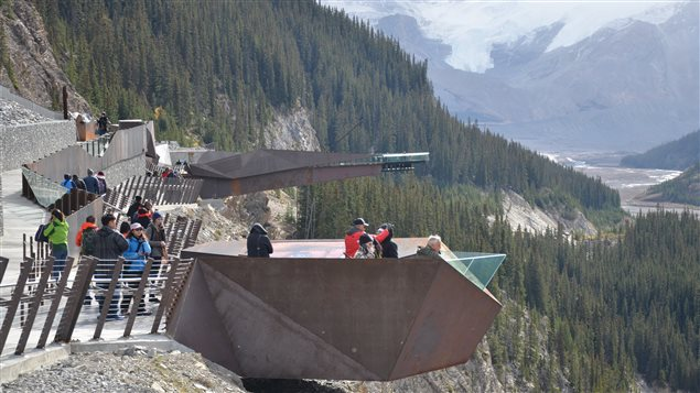 The aerial Glacier Skywalk was recently built in the heart of protected land in the Canadian Rockies.
