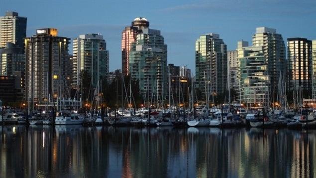 Des immeubles � Vancouver.