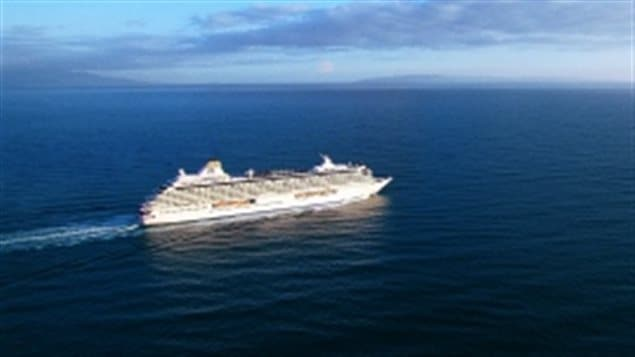 The Crystal Serenity is planning to carry 1,000 passengers on board the first 'luxury' cruise to sail from Alaska to Greenland through the Northwest Passage in August of 2016.