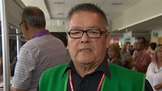 Le chef de la communauté innue de Mingan, Jean-Charles Piétacho