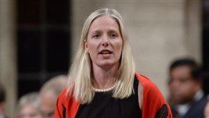 La ministre fédérale de l'Environnement Catherine McKenna.