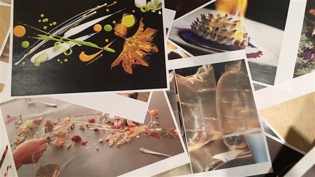 Quelques photos des mets créés par le chef Grant Achatz de La Linea.