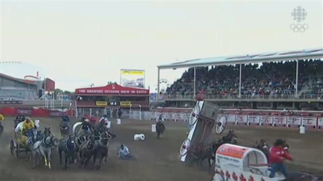 The Annual Calgary Stampede Comes To A Wet Closure