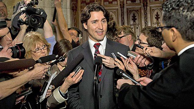 Justin Trudeau et les médias