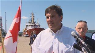 Dominic LeBlanc, ministre fédéral des Pêches