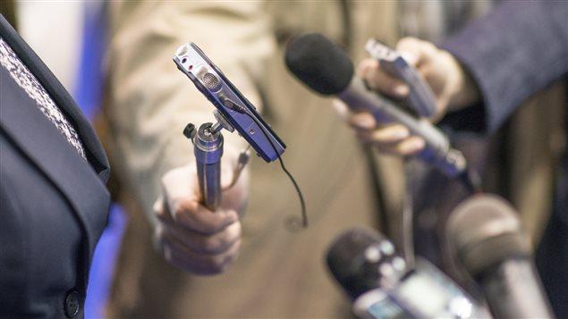 Des microphones