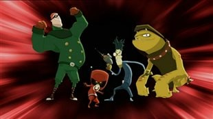 League of Super Evil (LOSE) one of the animated cartoon series from Peter Ricq