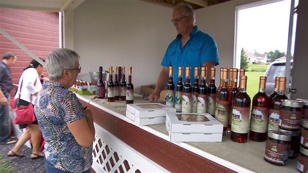 Les produits de la Vallée de la framboise