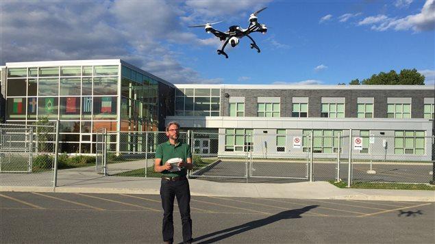 Pierre Martel, photographe amateur et passionn� par les drones