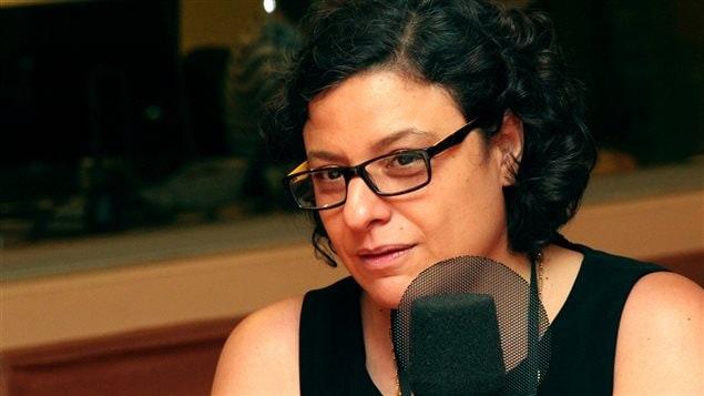 L'auteure M�likah Abdelmoumen