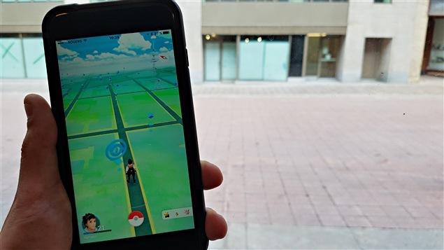 Pour jouer à Pokémon Go, on doit se déplacer dans le monde réel.