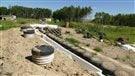 Un couple du Manitoba construit une maison entière avec des pneus