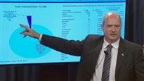 Le ministre des Finances Mike de Jong