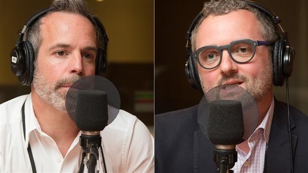 Richard Ouellet et Maxime Vandal