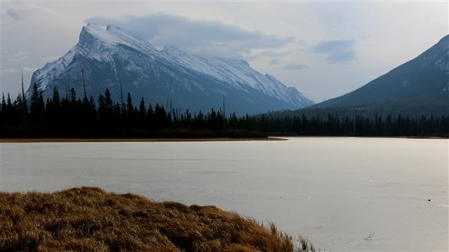 Le parc national Banff en Alberta.