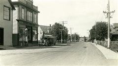 L'avenue de Grand-Pré au début du 20e siècle.