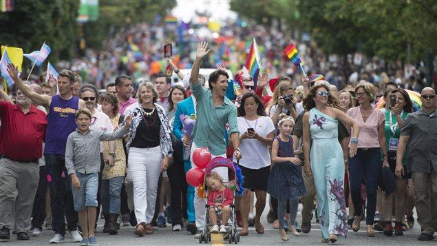 Trudeau Makes History At Vancouver Pride Parade