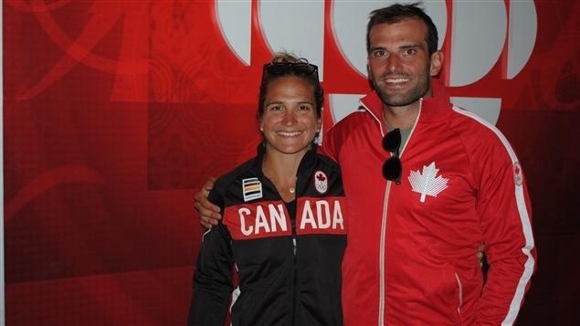 Émilie et Hugues Fournel, kayakistes (frère et soeur)