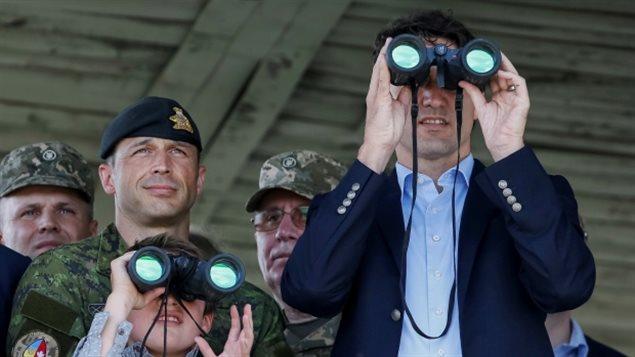 رئيس الحكومة الكنديّة جوستان ترودو تعهّد بإعادة دور كندا في مهمّات  حفظ السلام  الدوليّة