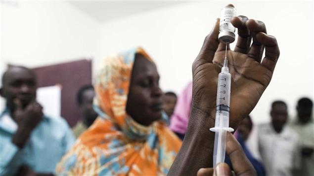 Vaccination contre la fièvre jaune au Soudan