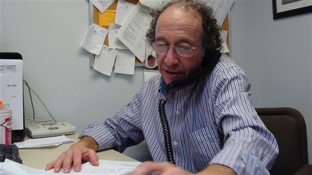 Le directeur d'Info-Secte, Mike Kropveld, intervient depuis plus de 20 ans auprès d'anciens adeptes de nouveaux mouvements religieux. (crédit: David Riendeau)