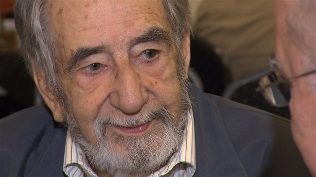 L'auteur Bertrand B. Leblanc, de Lac-au-Saumon.