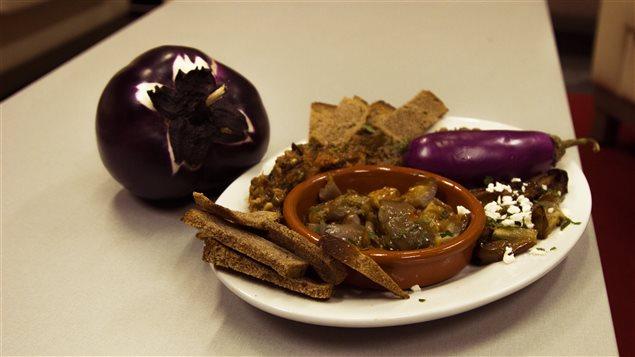 Marie-Michelle Garon a concocté pour nous quelques plats d'aubergines.