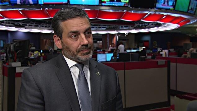 Le député Pierre Nantel