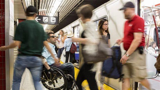 Usagers du métro de Toronto