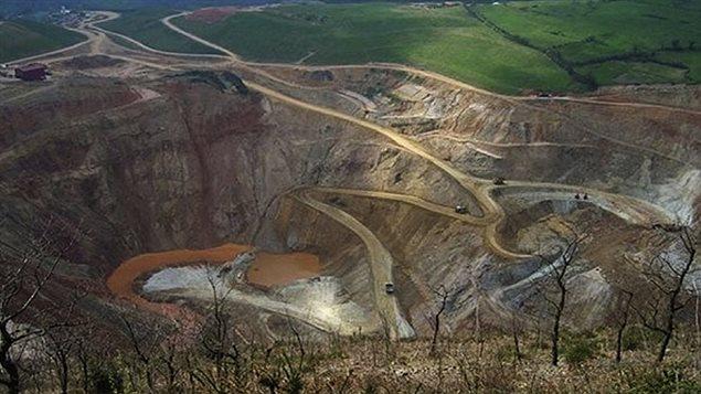 El proyecto de oro y cobre Las Brisas en Venezuela