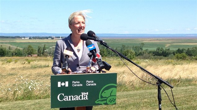 La ministra canadiense del Medioambiente, Catherine McKenna.