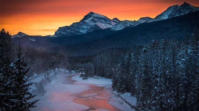 Parc national de Banff en Alberta