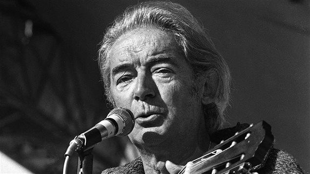 Le chanteur et poète Félix Leclerc