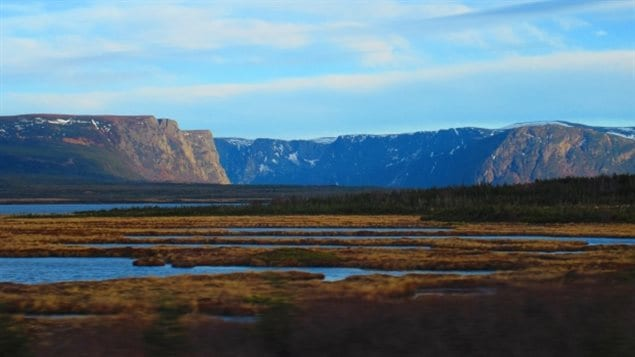 """""""Soaring fjords and moody mountains tower above a diverse panorama of beaches and bogs, forests and barren cliffs,"""" reads the government's description of Gros Morne National Park."""