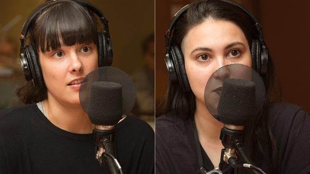 Laurence Lafond-Beaulne et Camille Poliquin
