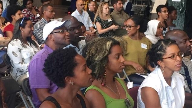 250 personnes se sont réunies à Ottawa pour le forum sur le racisme.