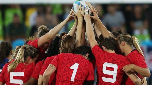 L'�quipe canadienne de rugby � 7