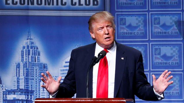 Le candidat républicain à la présidentielle américaine de novembre 2016, Donald Trump