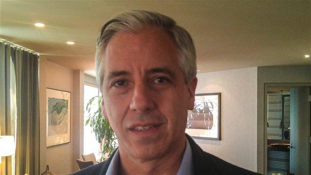 El vicepresidente de Bolivia, Álvaro García Linera, en su paso por Montreal.
