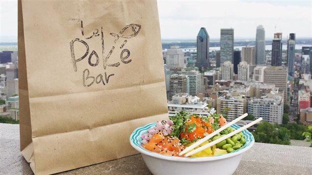 À Montréal, le PokéBar est le premier restaurant à se consacrer au poké.