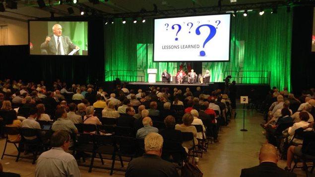 La conférence de l'Association des municipalités ontariennes réunit 1 600 délégués d'un peu partout dans la province.