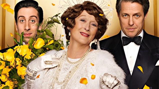 Le film sur la vie de Florence Foster Jenkins met en vedette Simon Helberg, Meryl Streep et Hugh Grant.