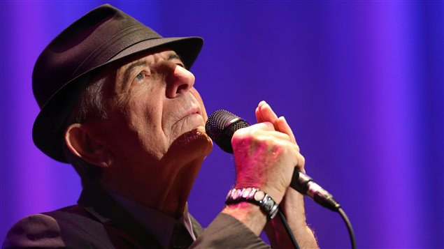 Leonard Cohen en concert