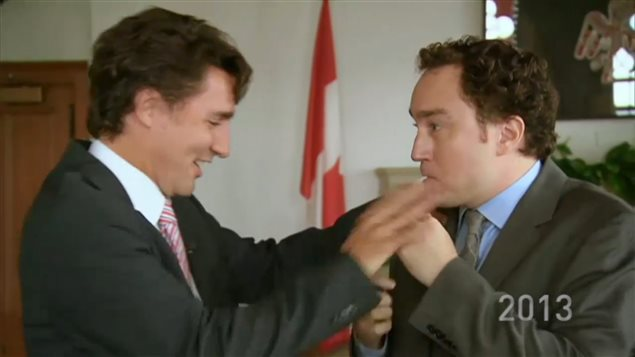 In 2013, then Liberal Party Leader Justin Trudeau stopped comedian Mark Critch from smoking a joint in his office.