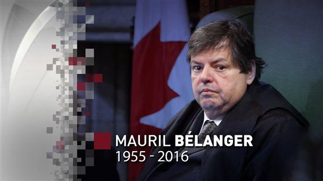 Le député fédéral Mauril Bélanger s'est éteint.