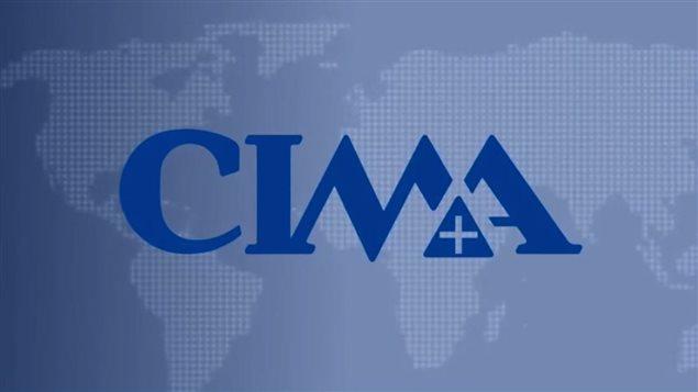 Le logo de la firme CIMA