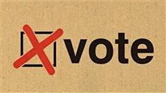Bulletin de vote.