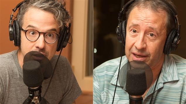 Matthieu Dugal et Yann Roche